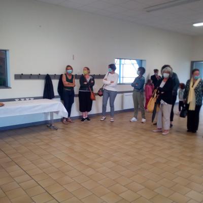 Rencontre élus/ employé communaux + départ en retraite de Mde Leroy