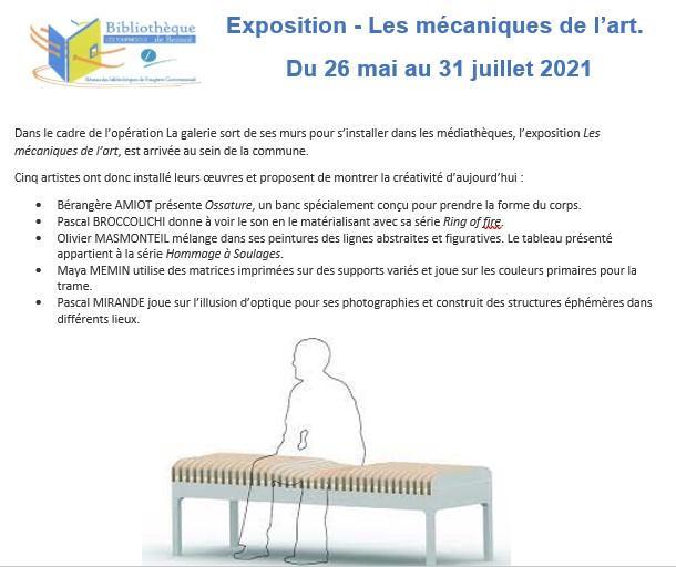 Expo bibliotheque